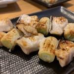 魚寅食堂 - カンパチネギ串焼