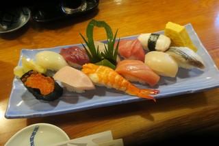 魚正 - 三陸宮古寿司(¥1.600)