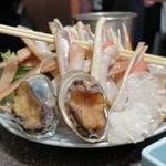 ふぐ蟹千年 - アワビ蟹すき