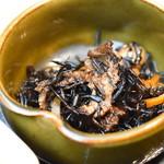 焼肉トラジ - 小鉢・ひじき(トラジ御膳)