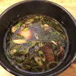 Clutch Hitter - 醤油つけ麺のつけ汁 ※味玉追加