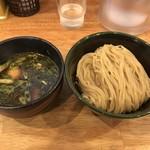 Clutch Hitter - 醤油つけ麺 ※味玉追加
