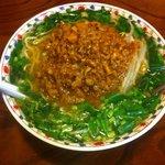 らーめん勘四郎 - 料理写真:ニラ坦々麺 (780円)+大盛 (100円)