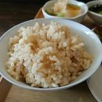 つゆくさ - 玄米がうまい