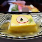 やまの宿 下藤屋 - カボチャ豆腐