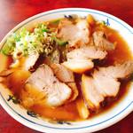富公 - チャーシュー麺(並)650円