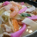 西海亭 - 野菜や海鮮がたっぷり