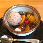 芋甚 - 小倉みつ豆