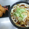 日栄軒 - 料理写真:'18/10/13 温天ぷら+いなり2個(税込540円)