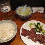 真助 - 牛タン定食(塩)
