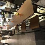 Cafe BAR MOKUBA - カウンターテーブル席