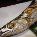 囲炉裏焼と蕎麦の店 うえ田 - 料理写真:秋刀魚の塩焼き
