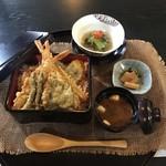 あじづくし菜生 - 天重セット 1500円