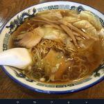 つづみそば - ワンタンB,中華そば つつみ(高山ラーメン)食彩品館.jp撮影