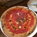 pizza world & m - マリナーラ(チーズなし、ニンニク、オレガノ)