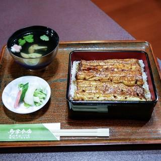 鳥常本店 - 料理写真:■鰻重(特上)3600円