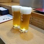 伊勢鮨 - ビール 500円