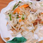 香蘭亭 - 野菜いため ¥550.-。この一皿を食べて、美味しい✨ここは間違いないと感じました‼︎