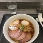 94528554 - 味玉鶏そば1,000円+チャーシューTP200円=1,200円