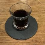 カフェ ロストロ - セットのコーヒーゼリー