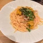スパゲティ そら - ウニとイカの濃厚タラコスパゲティ