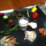 オッジ ダルマット - 前菜盛合わせ1