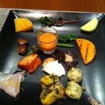 オッジ ダルマット - 前菜盛合わせ2