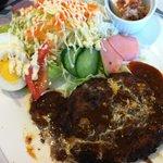 レストラン・カフェ クイーン - ハンバーグ