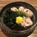 鮨遊膳 みのり - 白子ポン酢(^^)