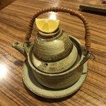 鮨遊膳 みのり - 松茸の土瓶蒸し(^^)   秋の味覚(^^)