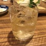 鮨遊膳 みのり - 金霧島をロックで(^^)