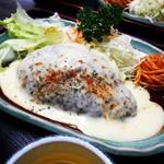 和風キッチン 蔵 - チーズハンバーグ定食