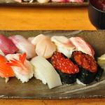 すし処 みどりや - 積丹寿司 1500円