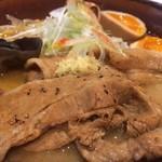 札幌みその - 豚肉たっぷりの味噌ラーメン