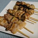 東京やきとり - 料理写真:串3種6本