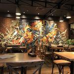 Kaka'ako Dining & Cafe  - 素敵な絵♡