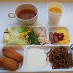 コンフォートホテル - 朝食の一例