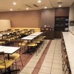 コンフォートホテル - 朝食会場