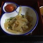 中国精進料理 凛林 - 今回はちょっとお疲れが出て柔らか過ぎたが太くて素晴らしいクラゲ