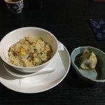 中国精進料理 凛林 - 水餃子とチャーハン