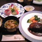 雅DINING - おすすめハンバーグステーキセット 1890円