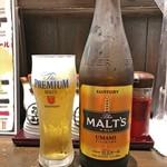 青山餃子房 - 瓶ビール