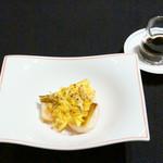 メゾン・ド・ユーロン - エビと上海蟹のオーブン焼き 黒酢スープ
