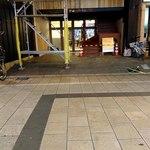 みやひろ - 現在の仮店舗時代の入口