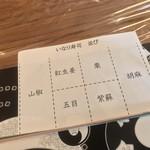 白金や - 白金や(ぷらちなや)(東京都中央区銀座4-13-16)六歌仙容彩(6種8個入り)