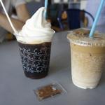 94547131 - コーヒーフロート、アイスカフェオレ