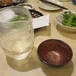 手打ち蕎麦 雷鳥 - 日本酒