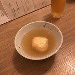 食事 太華 - 芝海老しんじょ