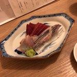 食事 太華 - マグロシマアジイワシ