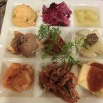 ボスコリサイア - 料理写真:ある日のディナーの前菜盛り合わせ(アラカルト)